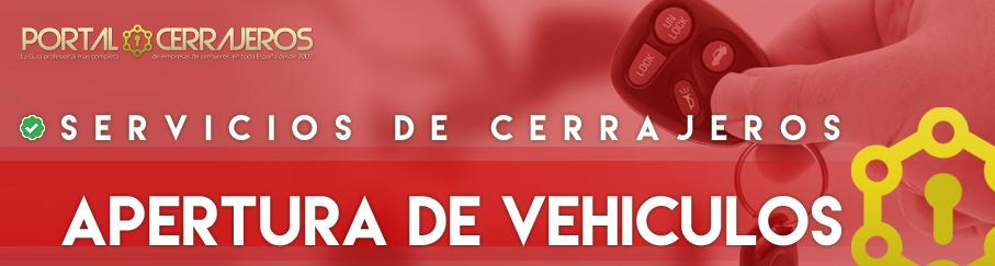 Apertura de vehiculos en Avila