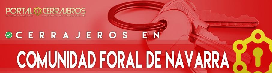 Cerrajeros en Comunidad Foral de Navarra