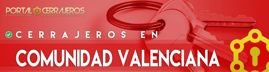 Cerrajeros en Comunidad Valenciana